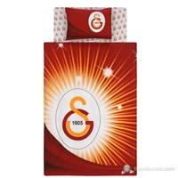 Taç Ranforce Lisanslı Nevresim Takımı Tek Kişilik Galatasaray Yıldız Logo