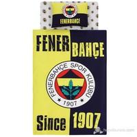 Taç Ranforce Lisanslı Nevresim Takımı Tek Kişilik Fenerbahçe 1907