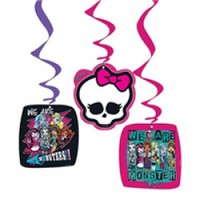 Parti Şöleni Monster High İp Süs 3 Adet