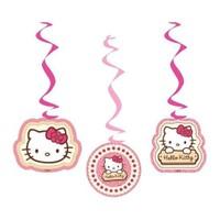 Parti Şöleni Hello Kitty İp Süs 3 Adet