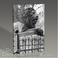 Pluscanvas - Lion Sculpture Tablo