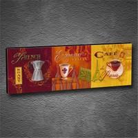Artmoda - Kabartmalı Espresso Tablo