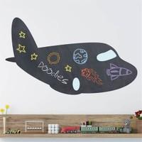 Dekorjinal Uçak Yazılabilir Yaz Sil Sticker Ys36