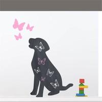 Dekorjinal Köpek Yazılabilir Yaz Sil Sticker Ys39