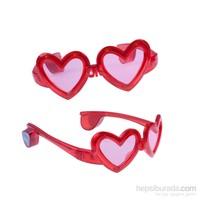 KullanAtMarket Işıklı Kalp Parti Gözlük 1 Adet