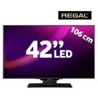 "Regal 42F7445S 42"" 400Hz DLNA Uydu Alıcılı UsbMovie FULL HD SMART LED TV ( Dahili Askı Aparatı )"