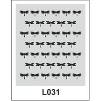 Atadan Hobi Sanatsal -Stencil C-D-L-Serisi (20 X 25 Cm)