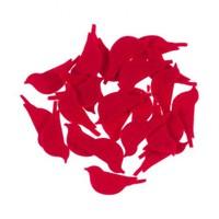 La Mia 25'Li Kırmızı Kuş Keçe Motifler M13