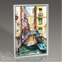 Pluscanvas - Venezia - Watercolor Series I Tablo