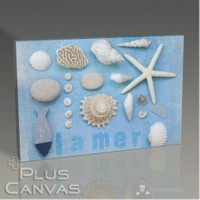 Pluscanvas - Jetsam Collage Iı Kanvas Tablo