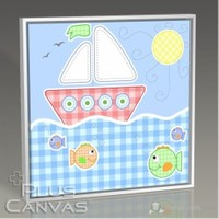 Pluscanvas - Baby Boat Tablo