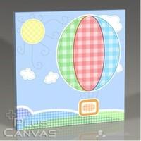 Pluscanvas - Baby Baloon Tablo