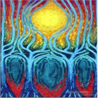 Güneş Kanvas Tablo