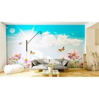 Iwall Resimli Gökyüzü Duvar Kağıdı 250X180