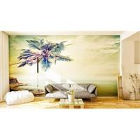 Iwall Resimli Palmiye Duvar Kağıdı 370X250