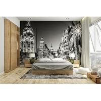 Iwall Resimli Gece Şehir Duvar Kağıdı 250X180