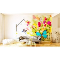Iwall Resimli Kelebek Duvar Kağıdı 370X250