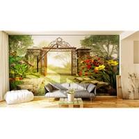 Iwall Resimli Orman Duvar Kağıdı 250X180