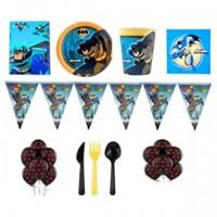 Partişöleni Batman Doğum Günü Parti Seti 16 Kişilik