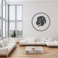 I Love My Wall Aslansticker(Baykuş Sticker Hediye!)