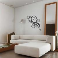 I Love My Wall Floral (F-046) Sticker
