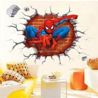Modakedi Spiderman Örümcek Adam 3 Boyutlu Duvar Çıkartma