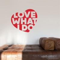 I Love My Wall Konuşan Duvarlar (Kd-307) Sticker