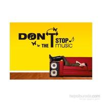 I Love My Wall Müzikal (M-052)Sticker(Baykuş Sticker Hediye!)