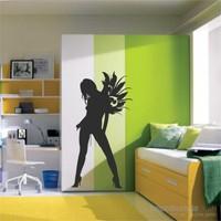 I Love My Wall Modern (Mdn-084)Sticker(Baykuş Sticker Hediye!)