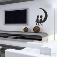 I Love My Wall Modern (Mdn-087)Sticker(Baykuş Sticker Hediye!)
