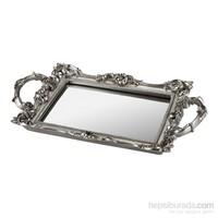 Noble Life Noble Aynalı Tepsi - Gümüş