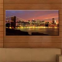 Canvastablom Pnr23 Brooklyn Bridge Panoramik Tablo