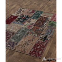 Apex Patchwork 160X230 Multi Naturel El Dokuma Halı