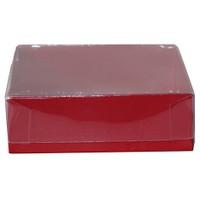 Pandoli Kırmızı Renkli Karton Kutu 9 Cm