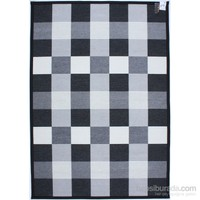 3K Konsept Nw 4284 Black Şönil Dokuma Halı 160X230