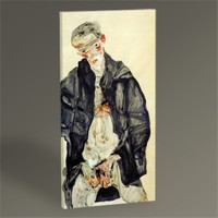 Tablo 360 Egon Schiele Masturbation Tablo 60X30