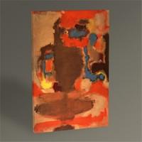 Tablo 360 Mark Rothko Untitled Tablo 45X30
