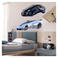 Artikel Dream Cars-4 Dev Duvar Sticker Dp-1471