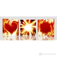 Ateş ve Aşk Kanvas Tablo