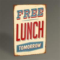 Tablo 360 Free Lunch Tablo 45X30