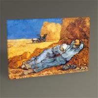 Tablo 360 Vincent Van Gogh La Siesta Tablo 75X50