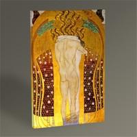 Tablo 360 Gustav Klimt Beethoven Frieze Tablo 45X30