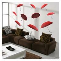 Artikel Umbrellas Dev Duvar Sticker Dp-1463