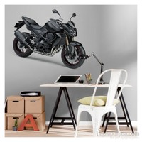 Artikel Motorcycle-3 Dev Duvar Sticker Dp-1466