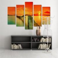 Dekoratif 5 Parçalı Kanvas Tablo-5K-Hb061015-333