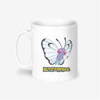 Kişiye Özel Pokemon Butterfree Tasarımlı Kupa Bardak