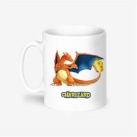 Kişiye Özel Pokemon Charizard Tasarımlı Kupa Bardak