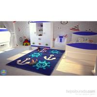 Poypoy Çapa Dümen Anti Alerjik Çocuk Halısı 100X150cm
