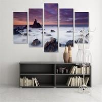 Dekoratif 5 Parçalı Kanvas Tablo-5K-Hb061015-319