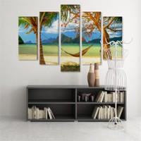 Dekoratif 5 Parçalı Kanvas Tablo-5K-Hb061015-320